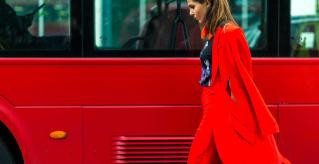 London Fashion Week. Credit: Harpers Bazaar.